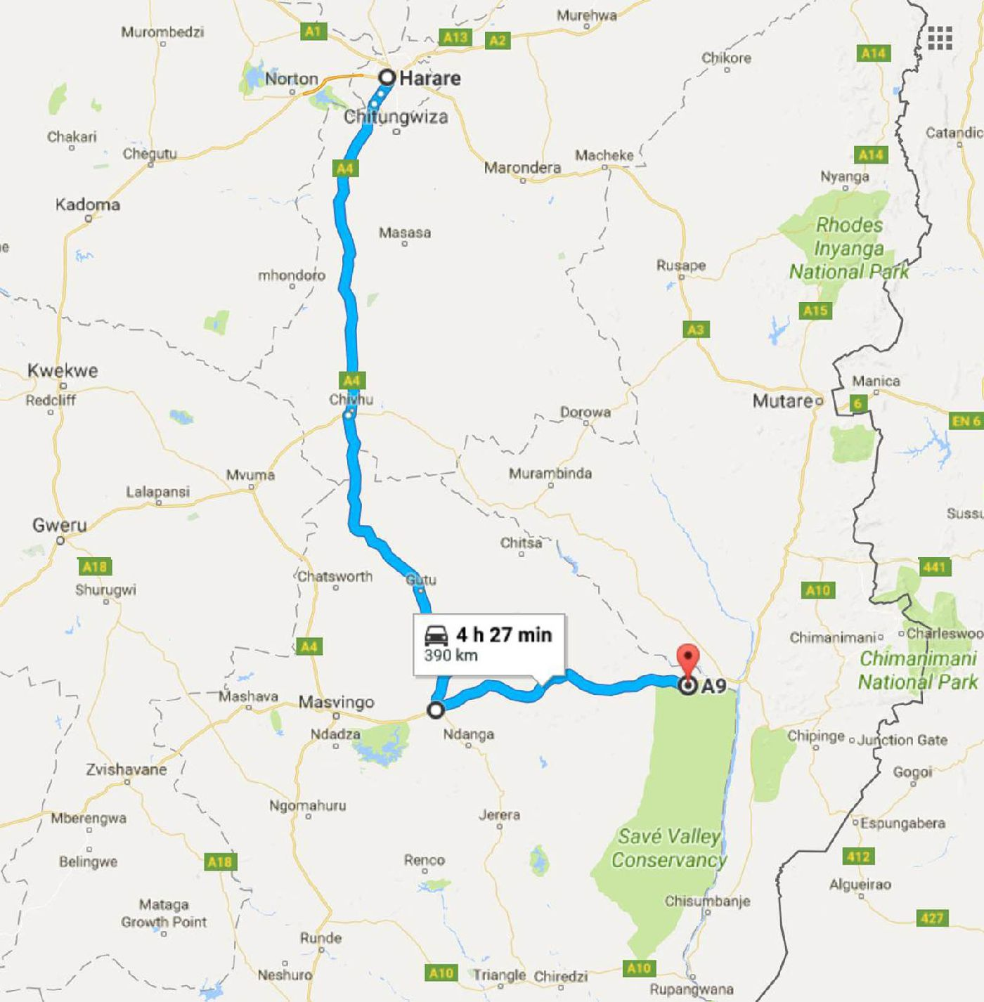 Information Zimbabwe Maps And Directions on